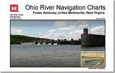 Army Corps Of Engineers River Charts Ohio River Navigation Charts Foster Kentucky To New