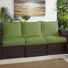 bay isle home indoor outdoor sunbrella loveseat sofa
