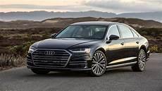 audi a8 2019 2019 audi a8 l review high tech luxury motortrend