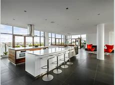 White Modern Kitchen Pictures: Party in the Penthouse   HGTV