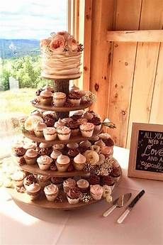 rustic cupcake stand 5 tier tower holder 120 cupcakes