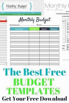 Spending Template The Best Free Budget Templates That Will Keep Your