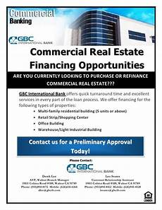 Commercial Flyers Commercial Real Estate Financing Opportunities Flyer