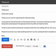 Follow Up Online Application How To Write Good Follow Up Emails After The Interview