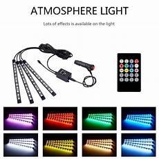 48 Interior Smart Lighting Kit Interior Car Lights Leadpo 4pcs Multicolor Interior Rgb 48