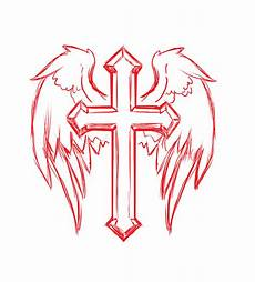 Cross With Wings Designs Cross Wings 183 Free Image On Pixabay