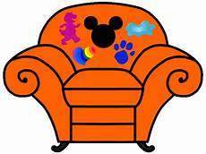 Mickey Sofa Png Image by Mickey S Clues Thinking Chair Thinking Chair Blues