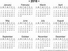 Free Printable Yearly Calendar Templates 2015 2016 Printable Calendar Printable Blank Calendar Org