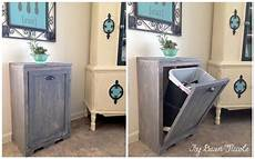 8 ways to hide or dress up an kitchen trash can