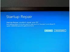 Windows 10 won't boot : windows