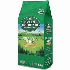 Green Mountain Breakfast Blend Light Roast Caffeine Green Mountain Coffee Breakfast Blend Light Roast Ground
