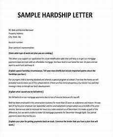 Sample Of Hardship Letter For Loan Modification 6 Hardship Letter Templates 6 Free Sample Example