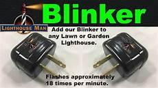 Blinker Bulb For Christmas Lights Lawn Lighthouse Fresnel Lens The Lighthouse Man