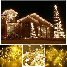 Warm White Christmas Lights Outdoor Warm White 50m 500 Led String Lighting Wedding Fairy