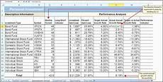 Excel Portfolio Analysis Stock Analysis Spreadsheet Excel Template Google