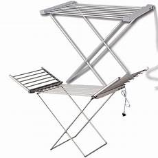 clothes airer electric heated clothes airer dryer rack with arms