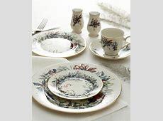 Lenox Winter Greetings Dinnerware Collection & Reviews
