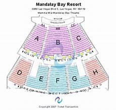 Mandalay Bay Seating Chart Mandalay Bay Theatre Tickets In Las Vegas Nevada