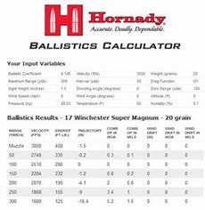 Winchester Ballistics Chart The New 17 Winchester Super Magnum Rimfire Varminter