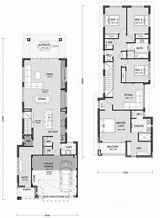 Narrow House Floor Plan Narrow Lot Homes And House Plans In Perth Pindan Homes