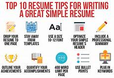 Resume Advise Simple Resume Writing Tips Archives