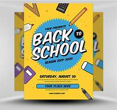 Back To School Flyer Templates Back To School Flyer Template
