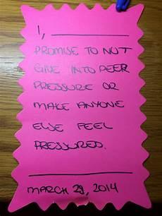 Peer Pressure Chart Peer Pressure Lesson Activity Peer Pressure Peer