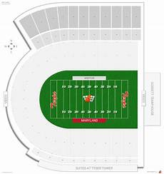 Maryland Football Seating Chart Maryland Stadium Maryland Seating Guide Rateyourseats Com