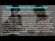 Sales Assistant Job Interview Sales Assistant Interview Questions Youtube