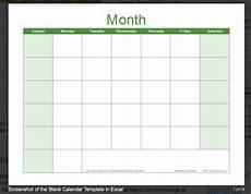 Printable Blank Calendar Free Printable Blank Calendar 2020