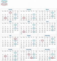 2020 Payroll Calendar Template Payroll Calendar 2020 Paydays And Holidays