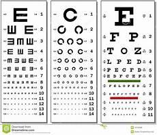 Eye Sight Chart Eye Chart Stock Vector Illustration Of Healthcare Chart