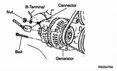 Service Manual Remove Alternator 2004 Kia Rio Service