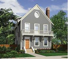 picturesque 3 story house plan 69591am architectural