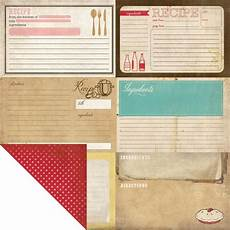 Homemade Recipe Cards Homemade With Love Recipe Cards Scrapbook Your Family Tree