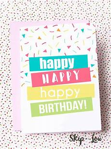 Printable Cards Online Free Printable Birthday Cards Skip To My Lou