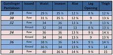 Pantaloons Size Chart Mister Freedom 174 X Sugar Cane Mfsc Spring 2012 Part 4