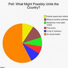 Poll Chart Maker Poll What Might Possibly Unite The Country Imgflip