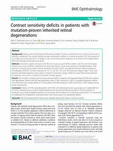 Contrast Sensitivity Chart Pdf Pdf Contrast Sensitivity Deficits In Patients With