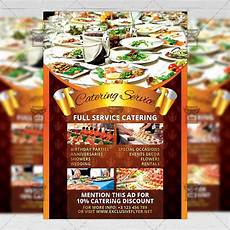 Catering Flyers Design Catering Service Food A5 Flyer Template Exclsiveflyer