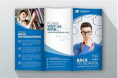 School Brochure Templates 17 Education Trifold Brochure Examples Psd Ai Apple
