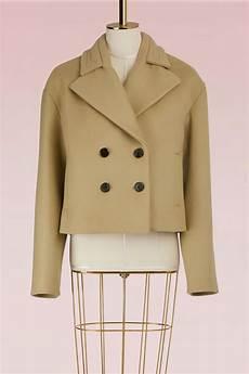 coats aloe wonens carven wool tulip coat in aloe modesens