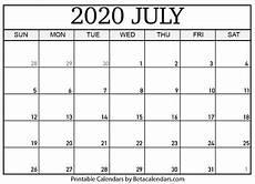 July 2020 Calendar Printable Blank July 2020 Calendar Printable By Mateo Pedersen Tpt