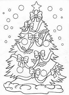 malvorlagen f 252 r weihnachten weihnachtsbaum