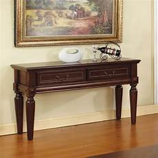 steve silver company davina sofa table in rich cherry