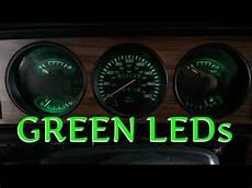 In Dash Led Lights 1st Gen Cummins Led Dash Bulbs Green Youtube
