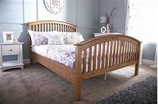 madrillo king size high foot bed frame