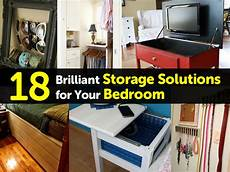 Bedroom Storage Solutions 18 Brilliant Storage Solutions For Your Bedroom