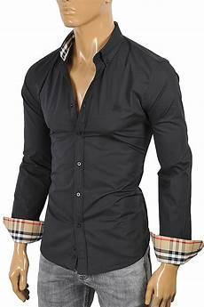 mens black dress shirts sleeve mens designer clothes burberry s sleeve dress