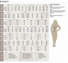 Women S Pendleton Clothing Size Chart